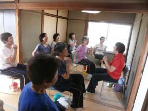 健康体操教室の様子